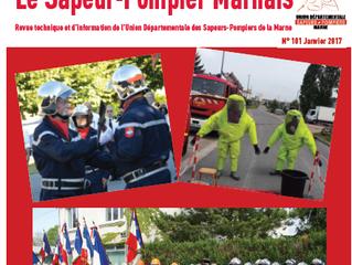 Revue le Sapeur-Pompier Marnais - Janvier 2017