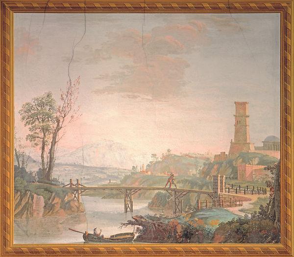 09 - Giovanni di Dio Galvagni - Lotta tra Orlando e Rodomonte Palazzo-Betta-Grillo-Roveret