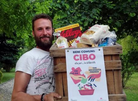 Il cibo bene comune: una cesta di generi alimentari in tutta Italia per chi ha bisogno