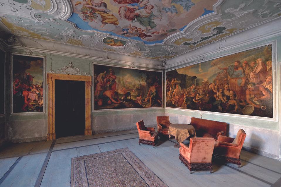 Sala del Trionfo della Gisutizia e della Pace Palazzo-Betta-Grillo-Rovereto-Frisinghelli.j