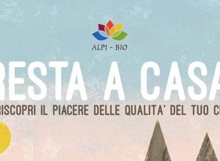 """Progetto Alpi Bio: """"Ricette in casa"""""""