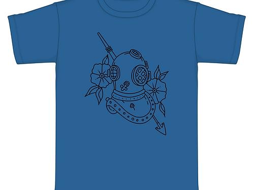T-Shirt - Beach Series -Diver