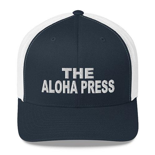 Retro Aloha Press Trucker Hat