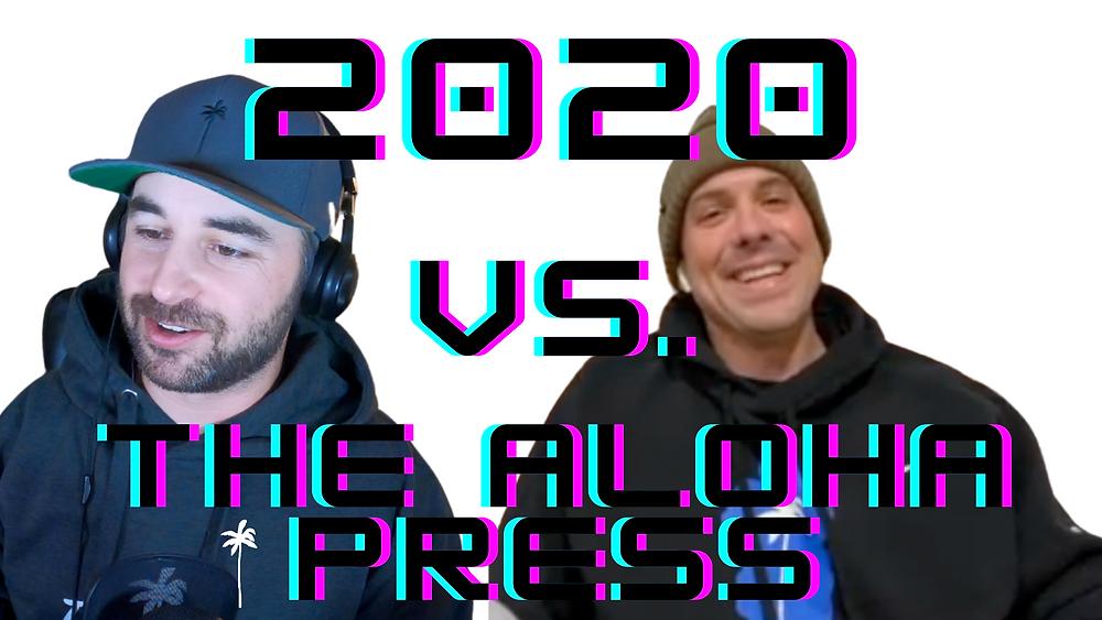the aloha press youtube show