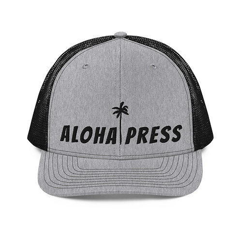 New Addition To The Aloha Press Trucker Hat Line Up!