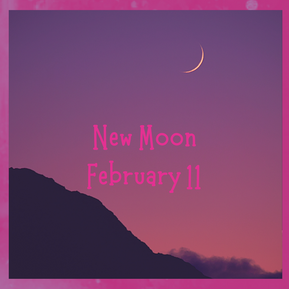 New Moon... Dream Big!