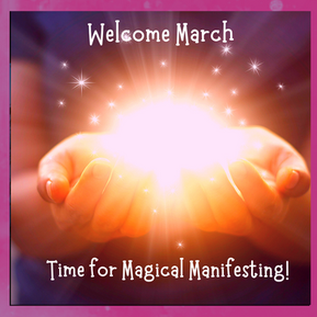 Magical March Manifesting! Here's the Code!