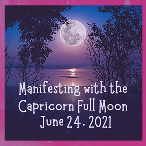 Surrendering with the Capricorn Full Moon