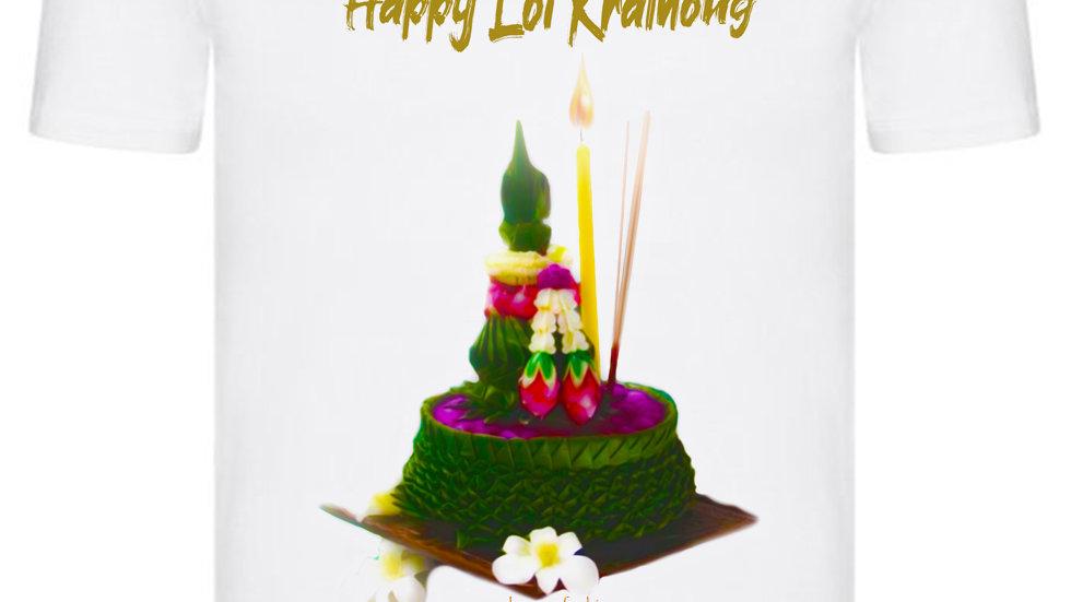 Happy Loi Krathong T-shirt 004