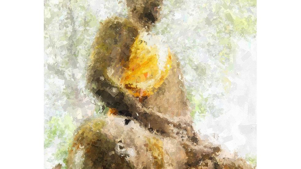 Buddha 004 Painting