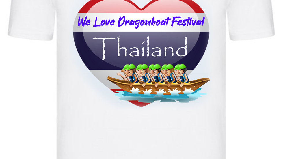 We Love Dragonboat Festival Thailand T-shirt Green Hats