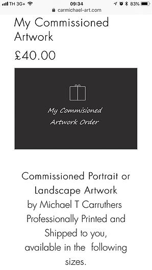 Carmichael Art Portraits