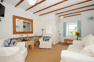 Living Room, St Pirans Cottages, Perranuthnoe, West Cornwall