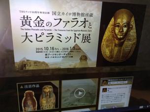 黄金のファラオと大ピラミッド展開催中(^^♪