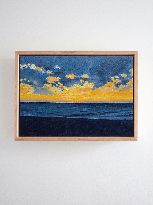 'Golden Hour' Original Oil Painting