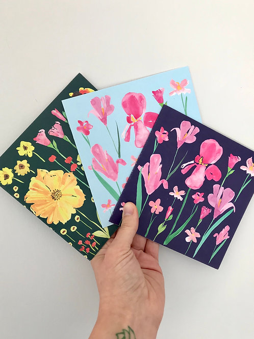 Mix & Match Set of 3 greeting cards