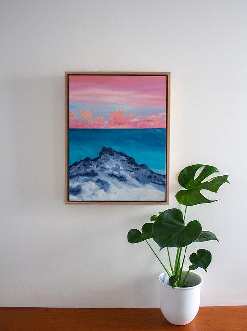 'Fairy Floss Rock' Original Oil Painting