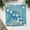 Thumbnail: Light Blue & Yellow Happy Holidays Card