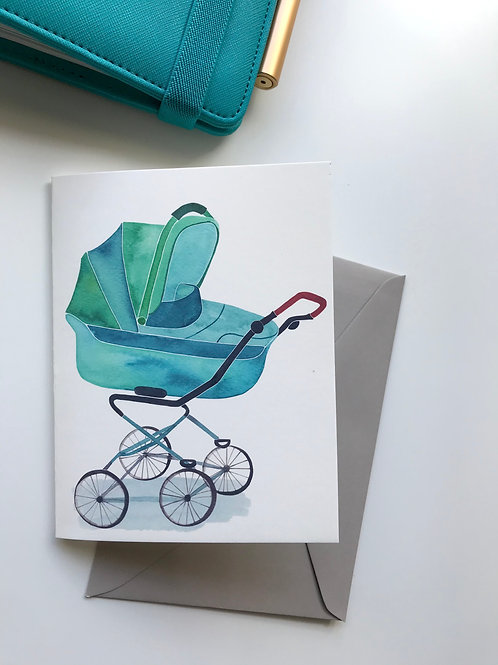 Newborn Baby | Birth Announcement Card