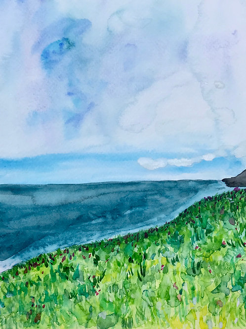 View from Otway Lookout Original Painting