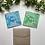 Thumbnail: Light Green & Pink Happy Holidays Card