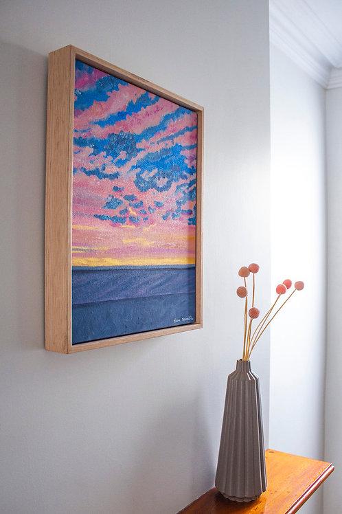 'Pink Magic' Original Oil Painting