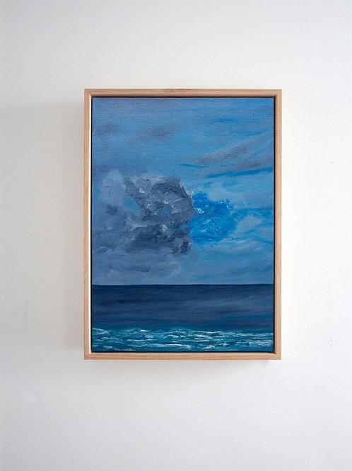 'Blue Haze' An Original Oil Painting