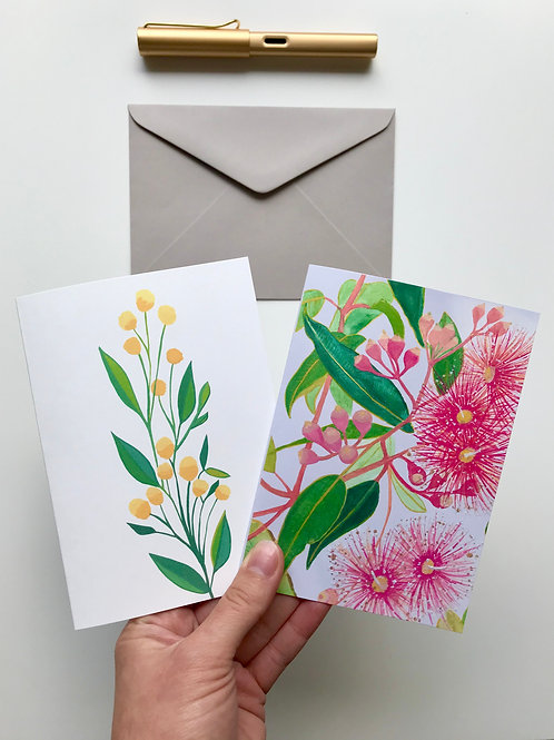 Australiana Set of 2 A6 Greeting Cards