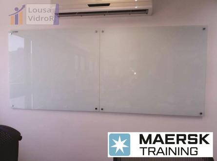 Lousa de vidro - Maersk