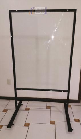 Flipchart de vidro