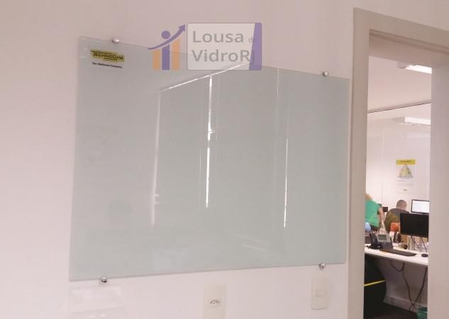 Lousa de vidro - Technogym