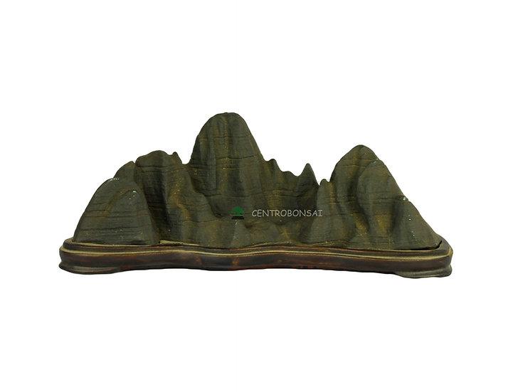 Suiseki piedra tipo montaña