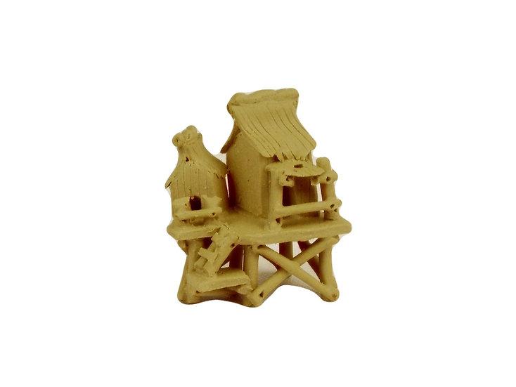 Figura Casa Bambú Japonesa