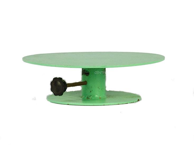 Torno circular de metal con freno diámetro 30 cm