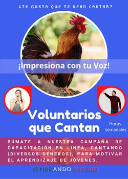Voluntarios que Cantan