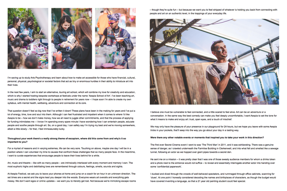 Shift Magazine || Interview with Jodie Powell