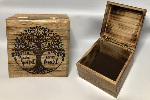 Peaceful Spirit - Loving Heart Box