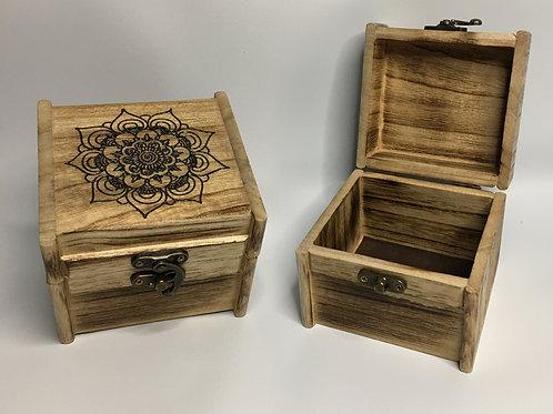 Mandala Box - Natural