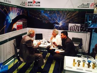 Al Lamaan at MENA Industrial Gas Conference 2017.