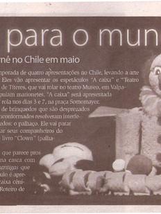 Diarinho, Itajaí/SC, 01/05/2010