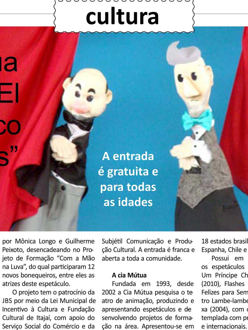 Jornal Diario DC, Itajaí/SC, 10/03/2015