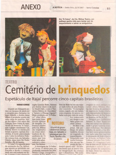 A Notícia, Joinville/SC, 21/09/2007