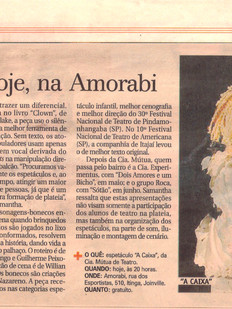 A Notícia, Joinville/SC, 28/04/2011