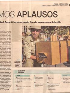 Noticias do Dia, Joinville/SC, 20/08/2011