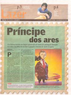 Jornal de Santa Catarina, Blumenau/SC, 26/08/2010