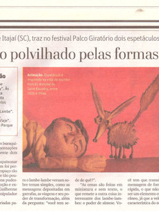 O Tempo, Belo Horizonte/MG, 11/08/2012