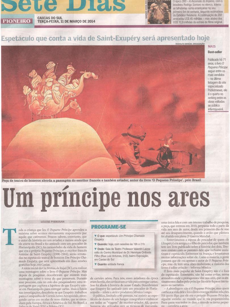 Pioneiro, Caxias do Sul/RS, 11/03/2014