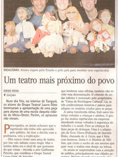 Diário Catarinense, Florianópolis/SC, 13/09/2004