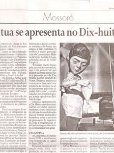 Gazeta do Oeste, Mossoró/RN, 15/08/2013
