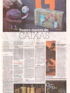 Jornal Gazeta do Povo, Curitiba/PR, 13/08/2012